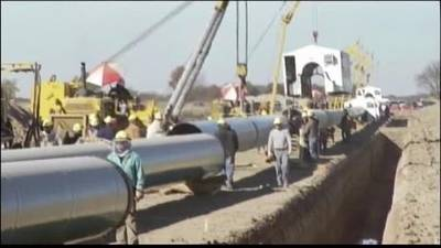 News video: President Obama vetos Keystone Pipeline